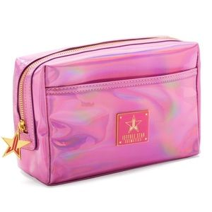 Jeffree Star Holographic Make up bag